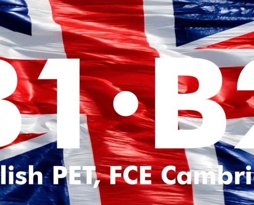 Preparación de exámenes B1 y B2, English PET, FCE Cambridge