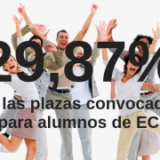 El 29,87% de las plazas a maestros, secundaria y F.P. son para alumnos de ECOEM